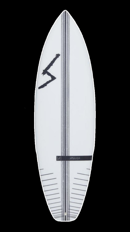 Toro white surfboard