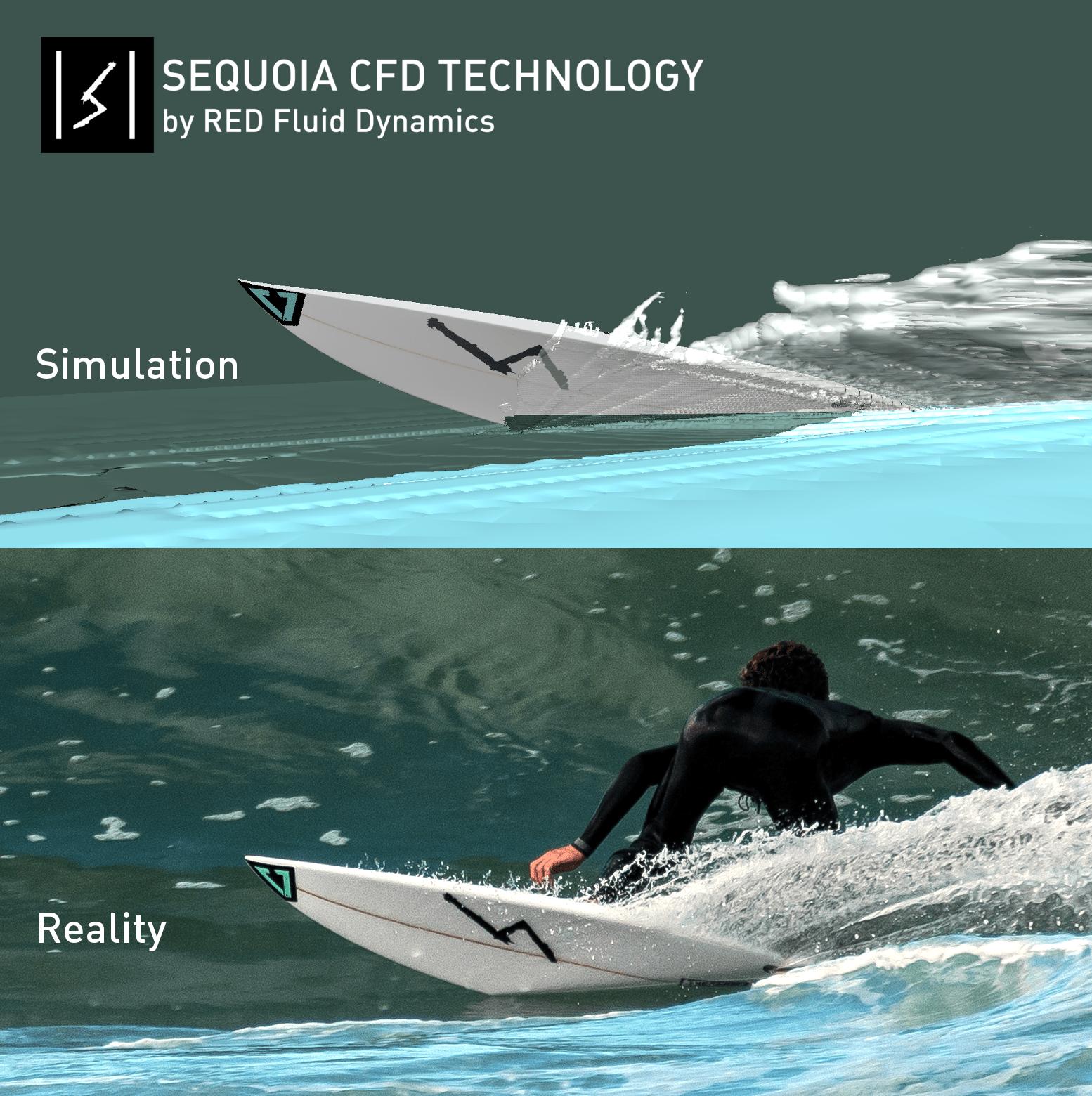 Sequoia CFD surfboards Enzo