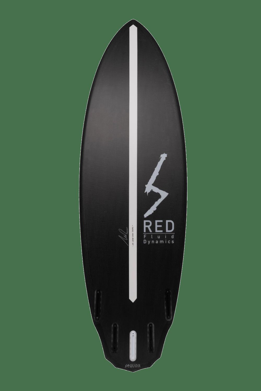 Enzo surfboard back